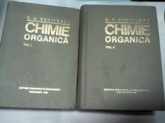 CHIMIE ORGANICA -NENITESCU foto