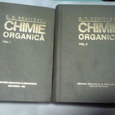 CHIMIE ORGANICA -NENITESCU