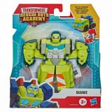 Figurina Transformers Rescue Bots Academy, Salvage to Cement Mixer, E8106