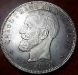 5 lei 1906 AUNC