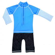 Costum de baie Blue Ocean marime 62- 68 protectie UV Swimpy for Your BabyKids