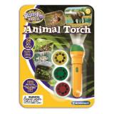 Proiector tip lanterna - Animale salbatice PlayLearn Toys