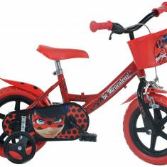 Bicicleta copii 12'' MIRACULOS-BUBURUZA PlayLearn Toys