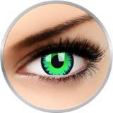 Crazy Green Werewolf - lentile de contact colorate verzi anuale - 360 purtari (2 lentile/cutie)