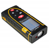 Cumpara ieftin Telemetru laser profesional 50 m, SNDWAY, seria SWT-70, precizie +/- 2mm, protectie IP54 (ploaie si praf), boloboc, placa reflectoare, nivela circular