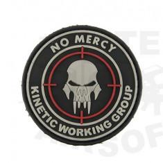 Patch No Mercy - Black [8FIELDS]