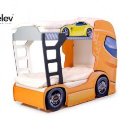 Pat camion DUO SCANIA 2 Orange