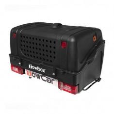 Cumpara ieftin Cutie portbagaj pe carligul de remorcare Towbox V1 DOG Negru