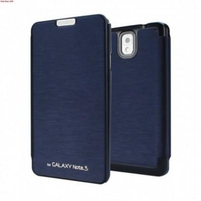 Husa Mercury Techno Flip Samsung Galaxy Note3 N9005 Blue Blister foto