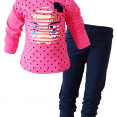 Colanti cu bluza roz Smiley