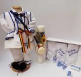 Cumpara ieftin Set Botez Traditional Raul 16 - 3 piese Botez Traditional : costumas , trusou si lumanare