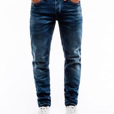 Blugi barbati P864 albastru inchis