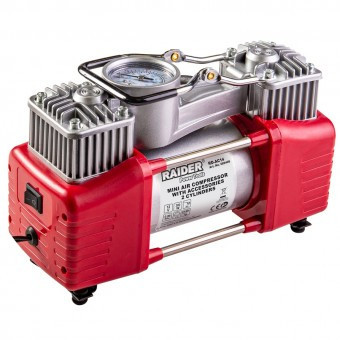 Compresor auto Raider RD-AC14, 70l/min, 300W, 12V foto