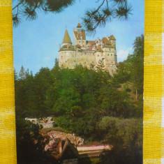 Castelul Bran-Panorama-vedere necirculata, timbrata