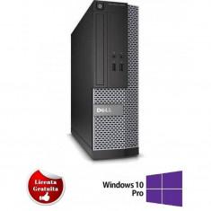 Sistem desktop Dell Optiplex 7010 Intel Core i7-3770 3.40GHz up to 3.90GHz 4GB DDR3 500GB HDD SATA DVD-ROM Desktop Soft Preinstalat Windows 10 Profess