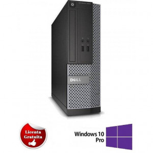 Sistem desktop Dell Optiplex 7010 Intel Core i7-3770 3.40GHz up to 3.90GHz 4GB DDR3 500GB HDD SATA DVD-ROM Desktop Soft Preinstalat Windows 10 Profess
