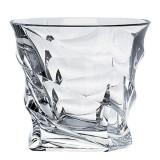 Cumpara ieftin Set 6 pahare Whisky Casablanca Bohemia 300ml din Sticla Cristalina cu Titanium COD: 3328