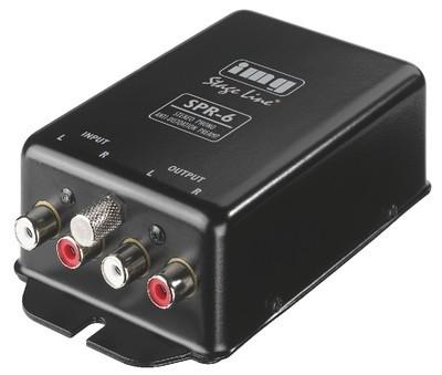 Preamplificator stereo pick-up anti-distorsiuni Stage Line SPR-6 foto