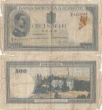 1936 ( 30 IV ) , 500 lei ( P-42a ) - Romania