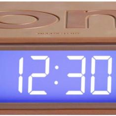 Ceas cu Alarma - Lexon Flip - Copper | Lexon