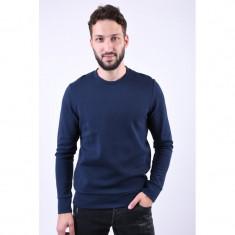 Bluza Bumbac Jack&Jones Online Bleumarin