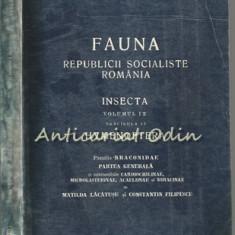 Fauna R.S.R. Vol. IX Fasc. 11 Insecta (III). Hymenoptera, Braconidae