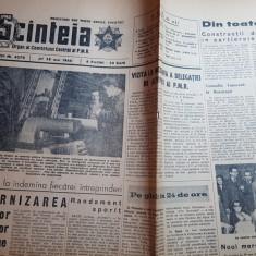 scanteia 28 mai 1964-reeditarea scrierilor lui tonitza,proza lui eminescu