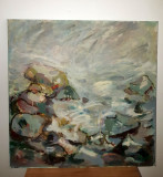 Tablou in ulei - marea