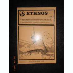 ETHNOS. REVISTA STIINTIFICA DE ETNOGRAFIE, FOLCLOR, ARTA POPULARA (nr. 2, 1992)