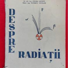 DESPRE RADIATII CIPLEA LICINIU , POPESCU NICOLAE