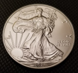 Moneda argint American Silver Eagle 2021 UNC, America de Nord
