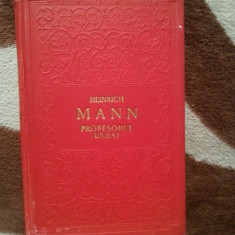 PROFESORUL UNRAT (INGERUL ALBASTRU)-HEINRICH MANN