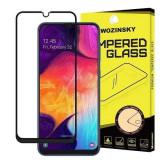 Folie Sticla Samsung Galaxy A40 Wozinsky 5D Full Glue Negru