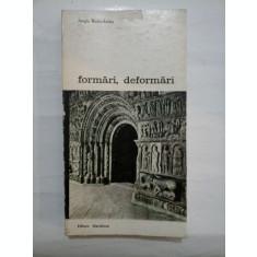 Formari, deformari * Stilistica ornamentala in sculptura romanica - Jurgis Baltrusaitis