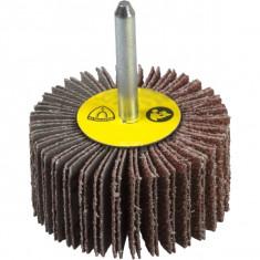 Klingspor - KM 613 - Perie lamelara cu tija, 60x50 mm, granulatie 120