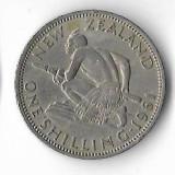 Moneda 1 shilling 1961 - Noua Zeelanda