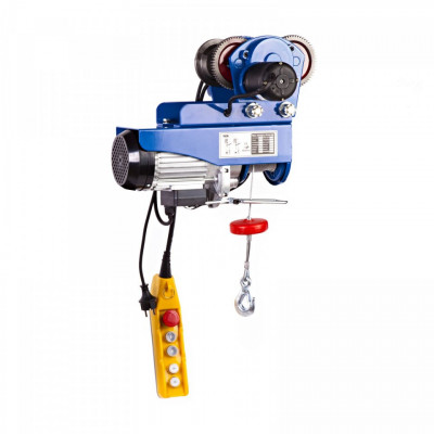 Macara electrica (electropalan) + carucior 300 Kg 600W PROCAT 300 MSW foto