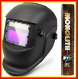 Cumpara ieftin Masca De Sudura Automata Heliomata Cristale+ Electrozi Monolith Rutilici 2.5