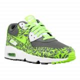 Pantofi Copii Nike Air Max 90 Print ME 833486003, 38, Verde