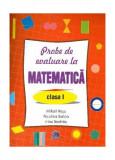 Probe de evaluare la matematică, clasa I