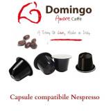 Domingo Caffe Capsule compatibile Nespresso Espresso Bar 100 capsule