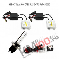 Set xenon H7 CAMION CAN-BUS 24V 35W 4300K