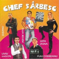CD  Chef Sârbesc, original, manele