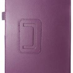 "Husa tip carte mov (textura Litchi) cu stand pentru Samsung Galaxy Tab A 10.1 2019 T510 / T515 (10.1"")"