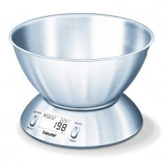 Cantar de bucatarie cu bol Beurer KS54, 5 kg, 1.5 l, functie Tara