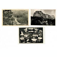 Lacul Ghilcos(Rosu) - Lot 3 carti postale anii 1940