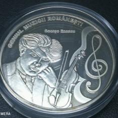 Romani Mari medalie argint pur George Enescu