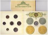 Ungaria 2008 - Set monetarie BU, cu medalie Ag