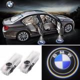 Lampi led logo portiere, holograme, dedicate BMW E90, E60, F10, F01
