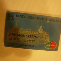 Cartela Banca Comerciala Romana 2005